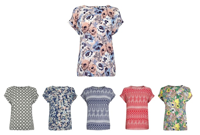 1 minute style file: Next floral blouse,£22