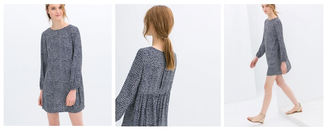 1 minute style file: Zara printed dress,£35.99