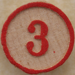 Three is the magic number.