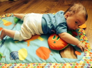 Jack Loves: The Hungry Caterpillar Tummy Time Mat, £28