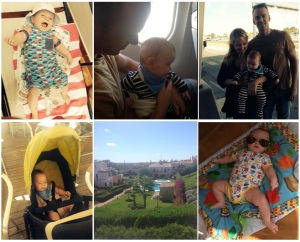 We went on holiday…with a baby!